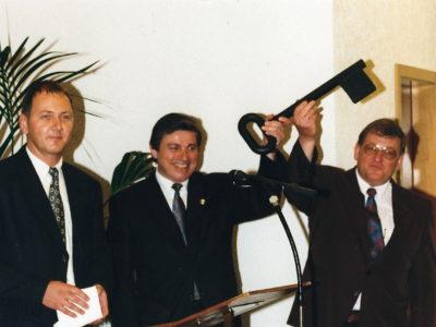 Einweihung 02.05.1999 Schlüsselübergabe